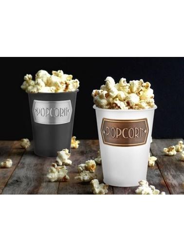 The Mia Popcorn Kasesi - Beyaz Beyaz